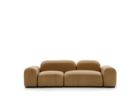 PEBBLE SOFA - leather